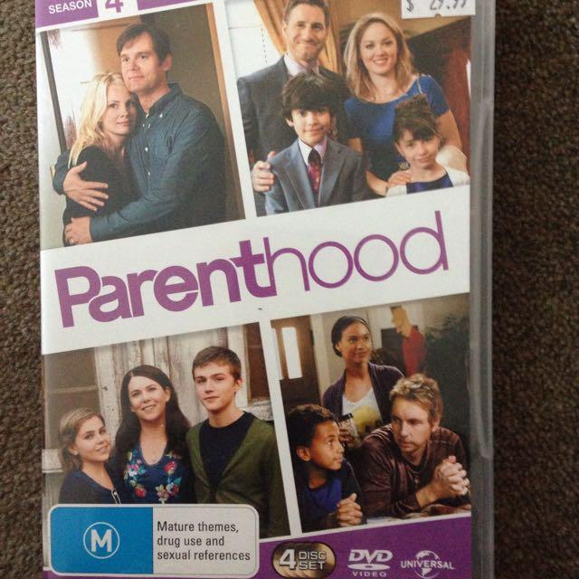 PARENTHOOD DVD - Season 4