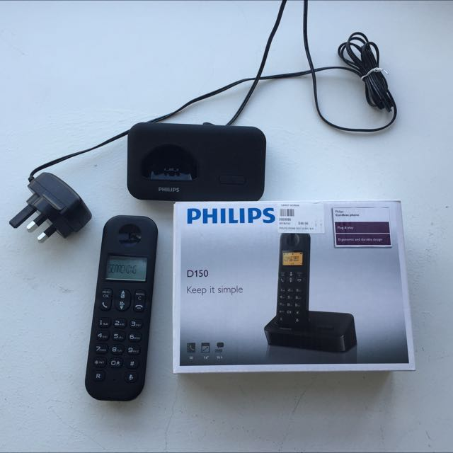 Philips D150 Cordless Home Phone