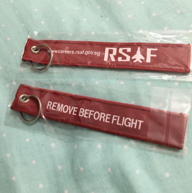 RSAF remove Before Flight Keychain afed2627a4