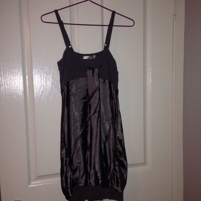 Sexy, Silky Brown Night Dress