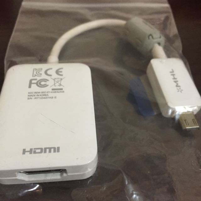 Sumsung 三星 手機 HDMI轉接頭 電視 看電影