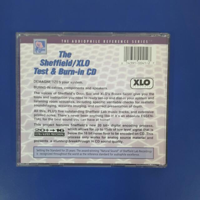 The Sheffield/XLO Test And Burn-in CD, Everything Else on