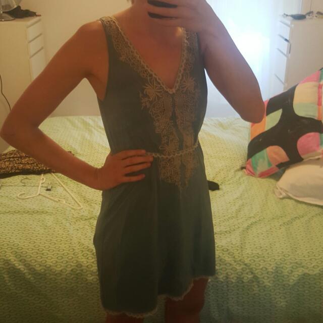 WISH 100% Silk Dress Size S