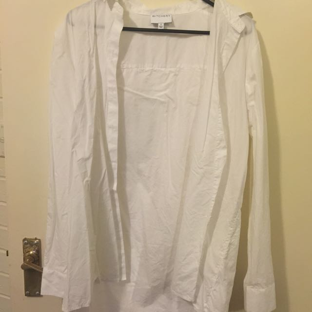 Witchery White Shirt Campaign Shirt