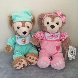 🚚 香港迪士尼帶回Baby Duffy嬰兒達菲雪莉玫娃娃