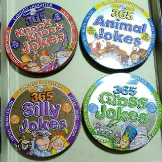 Canned Laughter Jokes (CD and Books)