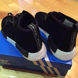 Adidas NMD Chukka 黑和紅各一雙