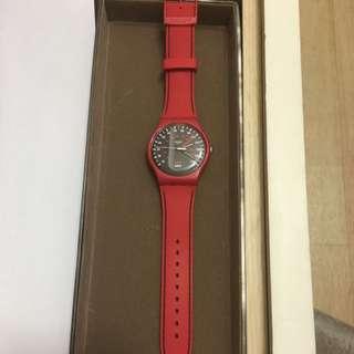 Swatch 賽車面板腕錶