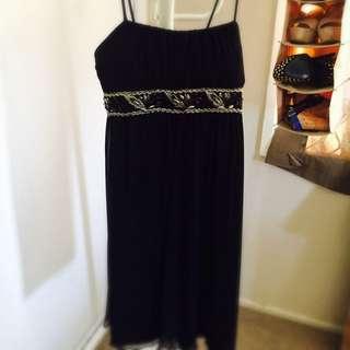 Hot Option Size 12 Black Dress