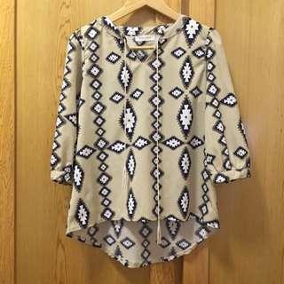 圖騰✨民族風前綁帶上衣