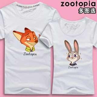 PO Zootopia Couple Shirts