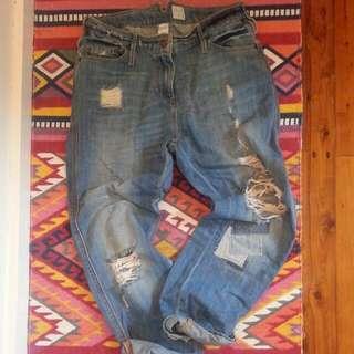 Sass & Bide Size 25 Boyfriend Jeans