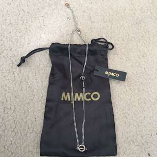 Mimco Silver Necklace