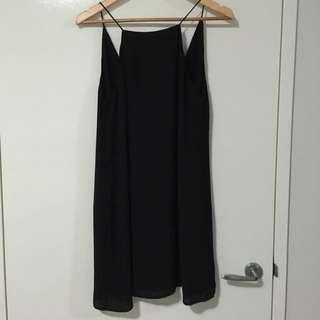 Glassons Black Dress - Size 10
