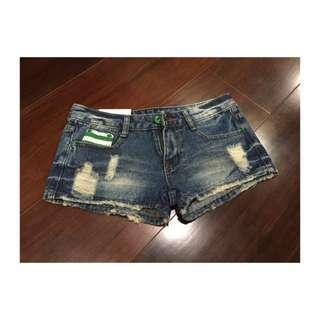 🚺牛仔短褲