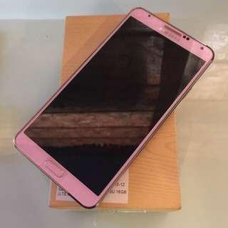 Note3 4G LTE 16G 粉色