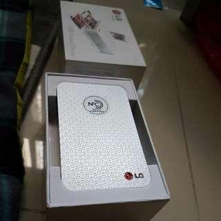LG Pocket Photo Mini Printer