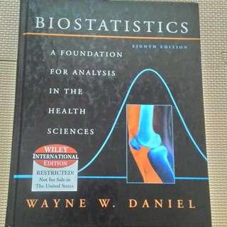 售 Biostatistics 第8版  By Dayne W.Daniel