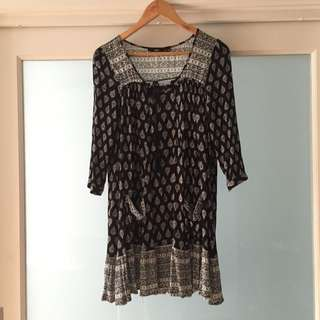 Sportsgirl Gypsy Dress Size 10