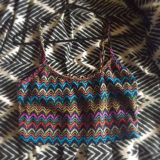 Supre Crop Top Multicoloured