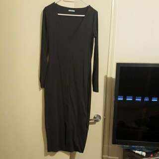 Kookai Size 2 Charcoal Colour Dress