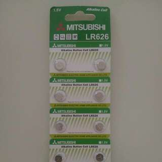 LR626 (SR626SW equivalent) button cell / battery