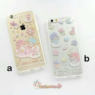 PO Sanrio Little Twins Phone Cover (IPhone 6/6s/+)