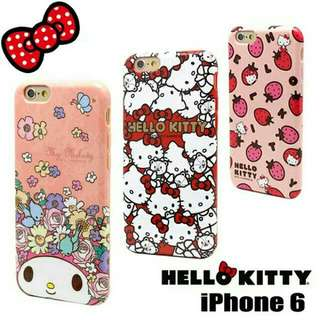 PO Hello Kitty/ My Melody Phone Cover (IPhone 6/6s/+)