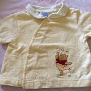 麗嬰房小熊維尼短外套