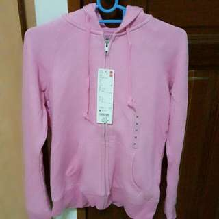 Woman Long Sleeve Sweater Full Zip Hooded Jacket