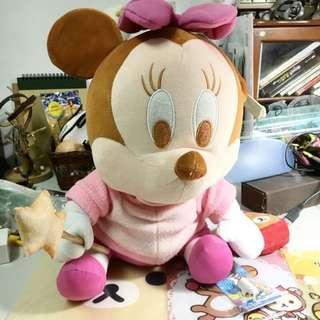正版迪士尼 米妮 大娃娃