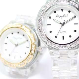 韓國Bling Bling 閃石手錶