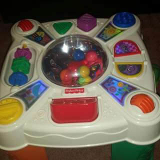 Its An Exciting Fisher & Price Stand Up activity Toy!