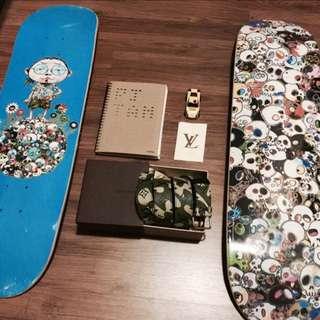 Takashi Murakami x Vans Skatedecks