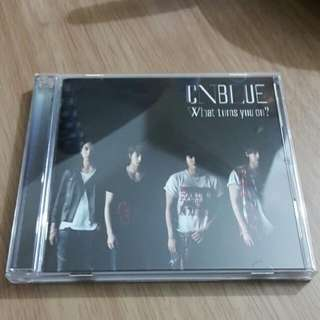 What Turns You On? CNBLUE Japanese Album