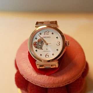 全新Sekio Lucia玫瑰金機械錶