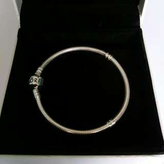 Authentic Pandora Bracelet 18 cm