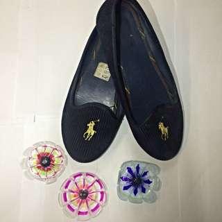 Authentic Ralph lauren Loafers(Size 8)