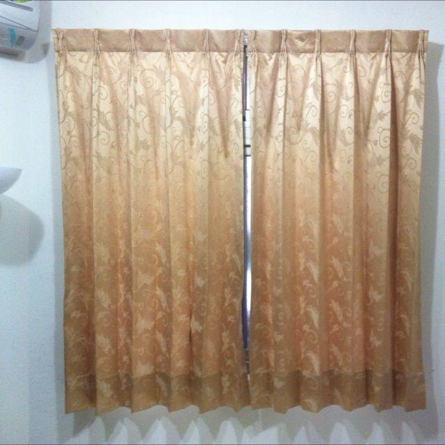 窗簾*2 高貴風 半遮廉