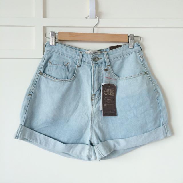 高腰牛仔短褲 #兩百元短褲