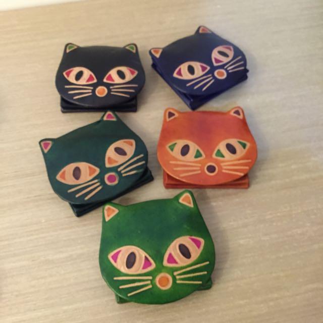 限時貓咪手工零錢包
