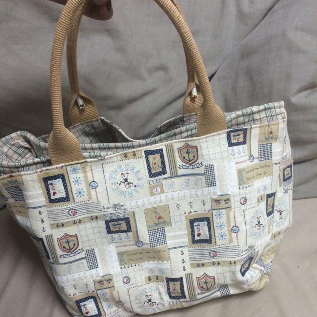 手工製手提布包