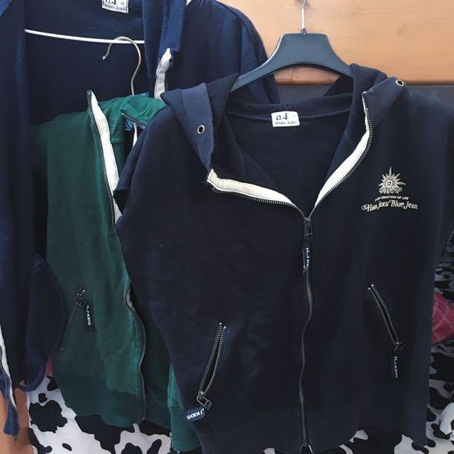 全部 無袖外套三款顏色