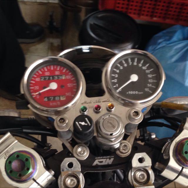馬克的檔車世界 碼錶架 時速轉數錶