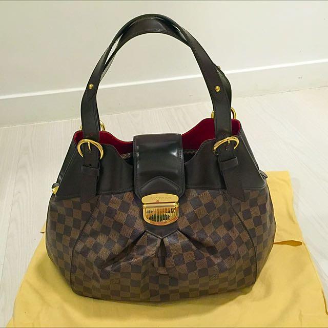 f1665f36dc0 Reduced Price! Authentic Louis Vuitton Damier Canvas Sistina GM Bag ...