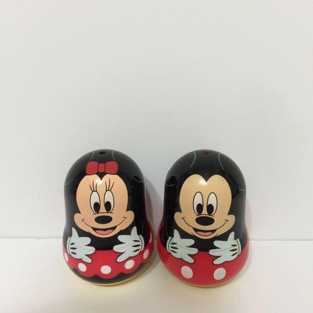 Disney Mickey&Minnie俄羅斯娃娃米奇米妮