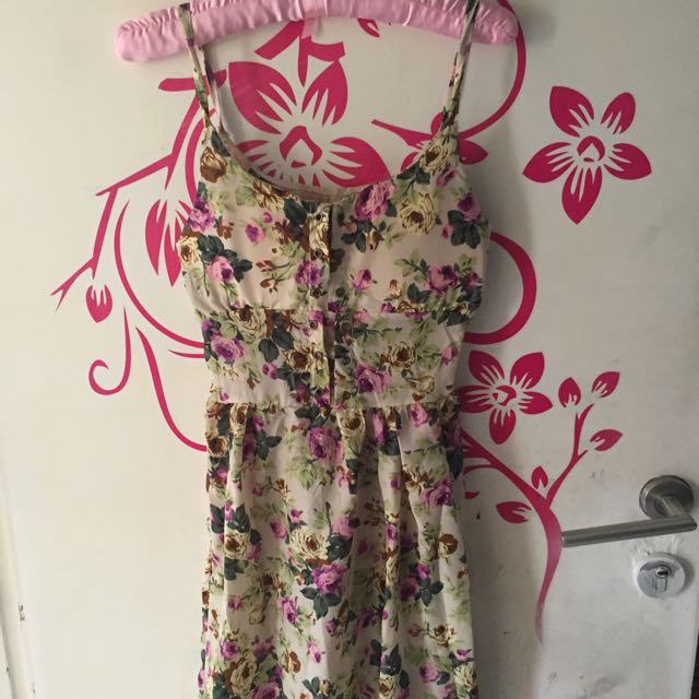 Floral Dress, Dress Bunga