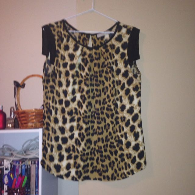 Forecast Leopard Print Top