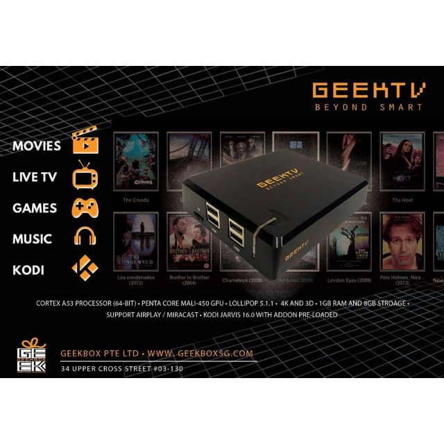 GEEK TV, Electronics on Carousell
