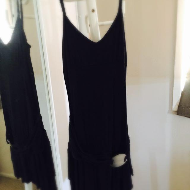 Girl Express Black Salsa Dress